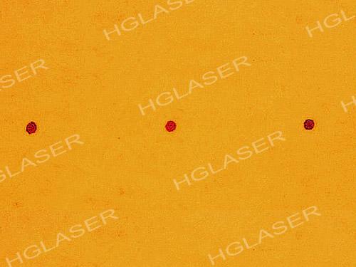 水松纸(接装纸)打孔显微影像图