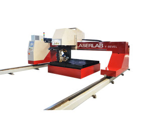 Calibur Double Cutting Torch Y-bevel CNC Plasma Cutting Machine