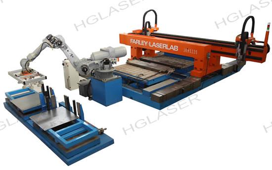 法利莱钢材拼焊在线激光焊接机