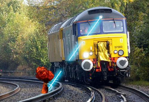 火车缓解器电路图