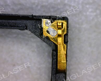 扬声器触点焊接