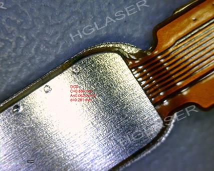 触摸按键固定环焊接