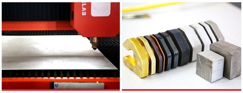 Marvel6000W光纤激光切割机切割样品