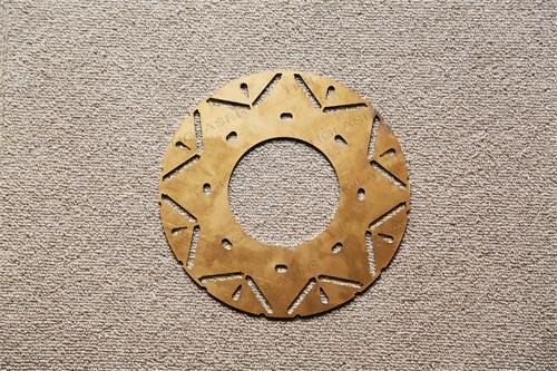 激光切割黄铜