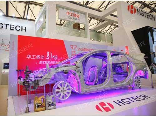 汽车白车身激光焊接