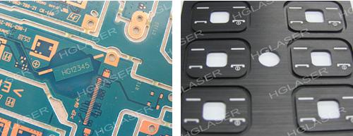 PCB激光打标样品