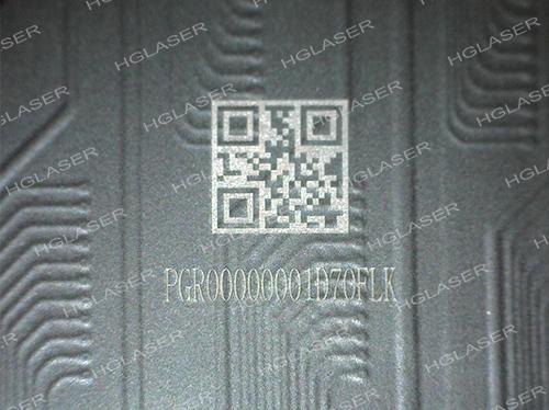 FPC 黑漆二维码标记