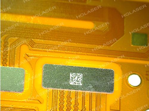 FPC补强钢片二维码标记