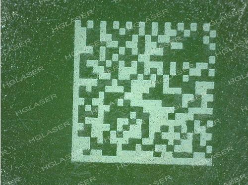 PCB 绿漆二维码标记