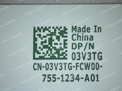 PCB白漆二维码标记