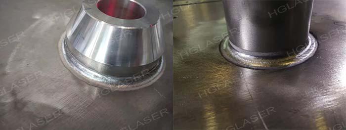 激光-MIG复合焊产品焊缝形貌