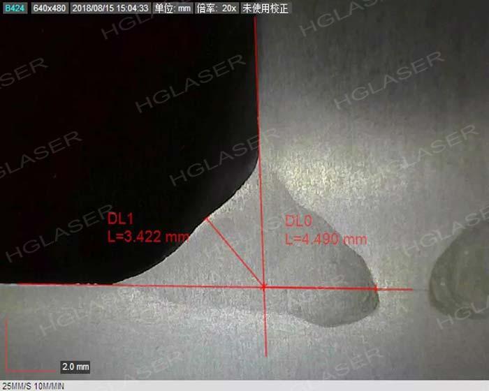 MIG复合焊角焊缝焊缝截面形貌