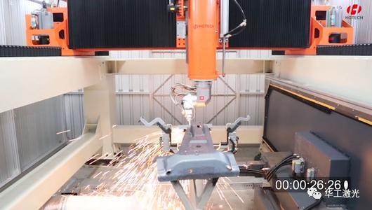 奥博汽车热成型件三维激光切割机